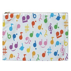 Musical Notes Cosmetic Bag (XXL)