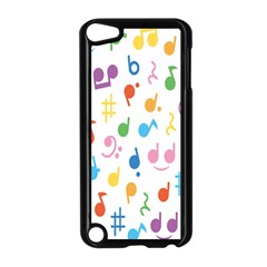 Musical Notes Apple iPod Touch 5 Case (Black)