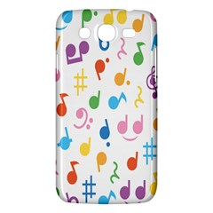 Musical Notes Samsung Galaxy Mega 5.8 I9152 Hardshell Case
