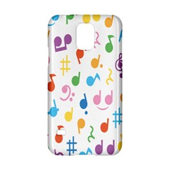 Musical Notes Samsung Galaxy S5 Hardshell Case
