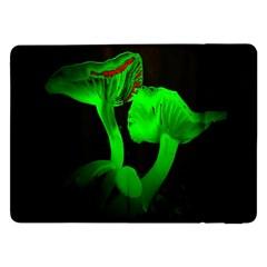 Neon Green Resolution Mushroom Samsung Galaxy Tab Pro 12.2  Flip Case