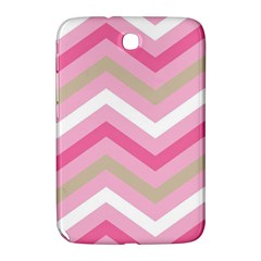 Pink Red White Grey Chevron Wave Samsung Galaxy Note 8.0 N5100 Hardshell Case