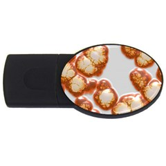 Abstract Texture A Completely Seamless Tile Able Background Design Usb Flash Drive Oval (2 Gb)