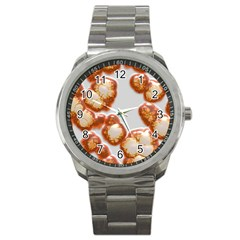 Abstract Texture A Completely Seamless Tile Able Background Design Sport Metal Watch