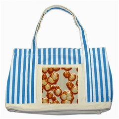 Abstract Texture A Completely Seamless Tile Able Background Design Striped Blue Tote Bag