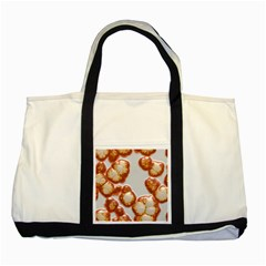 Abstract Texture A Completely Seamless Tile Able Background Design Two Tone Tote Bag