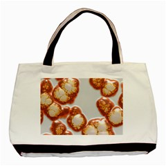 Abstract Texture A Completely Seamless Tile Able Background Design Basic Tote Bag (Two Sides)
