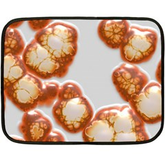 Abstract Texture A Completely Seamless Tile Able Background Design Double Sided Fleece Blanket (mini)