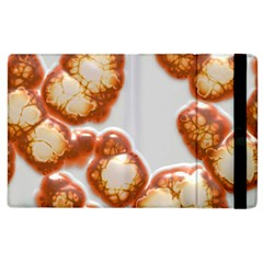 Abstract Texture A Completely Seamless Tile Able Background Design Apple Ipad 2 Flip Case