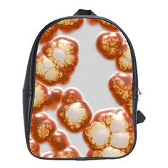 Abstract Texture A Completely Seamless Tile Able Background Design School Bags (xl)