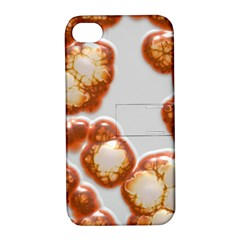 Abstract Texture A Completely Seamless Tile Able Background Design Apple iPhone 4/4S Hardshell Case with Stand