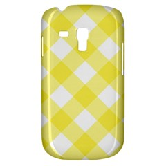 Plaid Chevron Yellow White Wave Galaxy S3 Mini