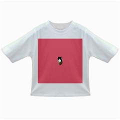 Minimalism Cat Pink Animals Infant/Toddler T-Shirts