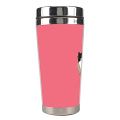 Minimalism Cat Pink Animals Stainless Steel Travel Tumblers