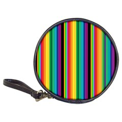 Multi Colored Colorful Bright Stripes Wallpaper Pattern Background Classic 20 Cd Wallets