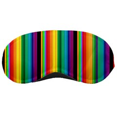 Multi Colored Colorful Bright Stripes Wallpaper Pattern Background Sleeping Masks