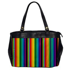 Multi Colored Colorful Bright Stripes Wallpaper Pattern Background Office Handbags
