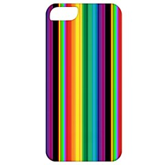 Multi Colored Colorful Bright Stripes Wallpaper Pattern Background Apple iPhone 5 Classic Hardshell Case