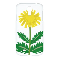 Sunflower Floral Flower Yellow Green Samsung Galaxy S4 I9500/I9505 Hardshell Case