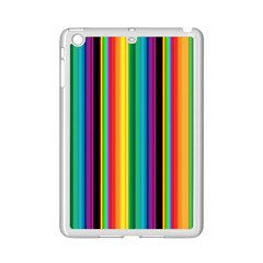 Multi Colored Colorful Bright Stripes Wallpaper Pattern Background Ipad Mini 2 Enamel Coated Cases