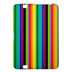 Multi Colored Colorful Bright Stripes Wallpaper Pattern Background Kindle Fire Hd 8 9