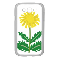 Sunflower Floral Flower Yellow Green Samsung Galaxy Grand DUOS I9082 Case (White)