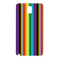Multi Colored Colorful Bright Stripes Wallpaper Pattern Background Samsung Galaxy Note 3 N9005 Hardshell Back Case