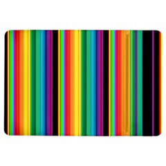 Multi Colored Colorful Bright Stripes Wallpaper Pattern Background Ipad Air 2 Flip