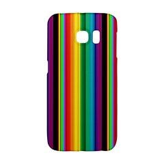 Multi Colored Colorful Bright Stripes Wallpaper Pattern Background Galaxy S6 Edge