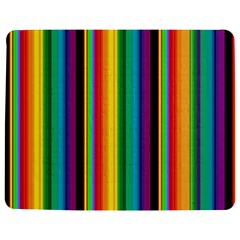 Multi Colored Colorful Bright Stripes Wallpaper Pattern Background Jigsaw Puzzle Photo Stand (Rectangular)