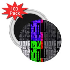 Repeated Tapestry Pattern 2.25  Magnets (100 pack)