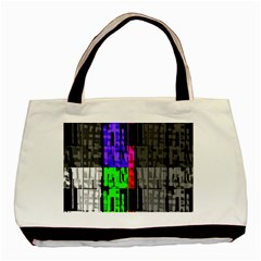 Repeated Tapestry Pattern Basic Tote Bag