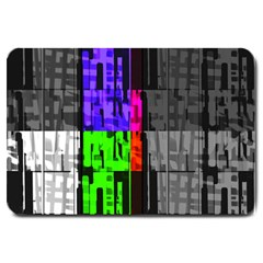 Repeated Tapestry Pattern Large Doormat