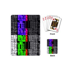 Repeated Tapestry Pattern Playing Cards (Mini)
