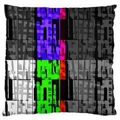 Repeated Tapestry Pattern Large Cushion Case (One Side)
