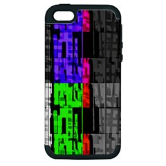 Repeated Tapestry Pattern Apple iPhone 5 Hardshell Case (PC+Silicone)