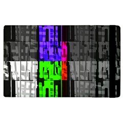 Repeated Tapestry Pattern Apple Ipad 2 Flip Case
