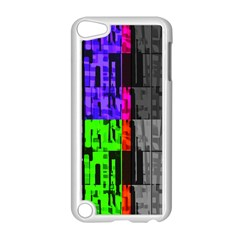 Repeated Tapestry Pattern Apple Ipod Touch 5 Case (white)