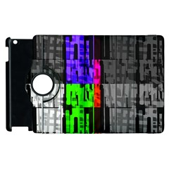 Repeated Tapestry Pattern Apple Ipad 2 Flip 360 Case