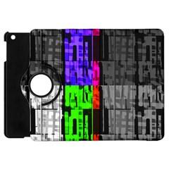Repeated Tapestry Pattern Apple iPad Mini Flip 360 Case