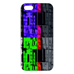 Repeated Tapestry Pattern Apple Iphone 5 Premium Hardshell Case