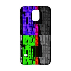 Repeated Tapestry Pattern Samsung Galaxy S5 Hardshell Case