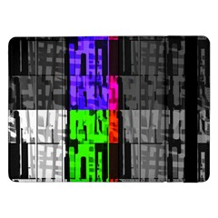 Repeated Tapestry Pattern Samsung Galaxy Tab Pro 12 2  Flip Case