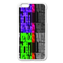Repeated Tapestry Pattern Apple Iphone 6 Plus/6s Plus Enamel White Case