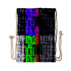 Repeated Tapestry Pattern Drawstring Bag (small)
