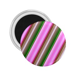 Pink And Green Abstract Pattern Background 2 25  Magnets