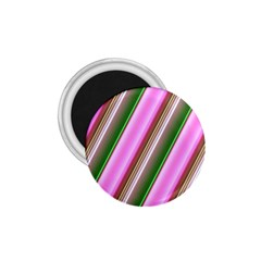 Pink And Green Abstract Pattern Background 1.75  Magnets