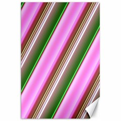 Pink And Green Abstract Pattern Background Canvas 20  X 30