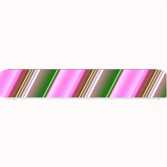 Pink And Green Abstract Pattern Background Small Bar Mats