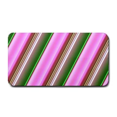 Pink And Green Abstract Pattern Background Medium Bar Mats